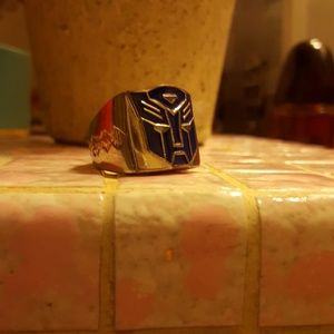 Transformers Ring Men size  8